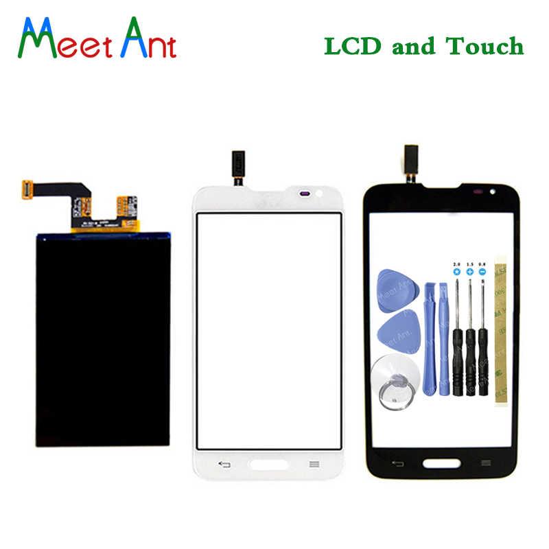 جديد جودة عالية 4.5 ''ل LG Optimus L70 D320 شاشة الكريستال السائل مع محول الأرقام بشاشة تعمل بلمس الاستشعار