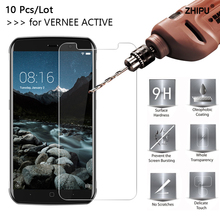 10 Pcs/Lot 2.5D 0.26mm 9H Premium Tempered Glass For Vernee Active Screen Protector protective film For Vernee Active 5.5 vernee m6 4g phablet