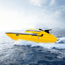 Simulation Remote Control Ship Model Wireless High Speed Speedboat 2.4G Boat Anti-Turn