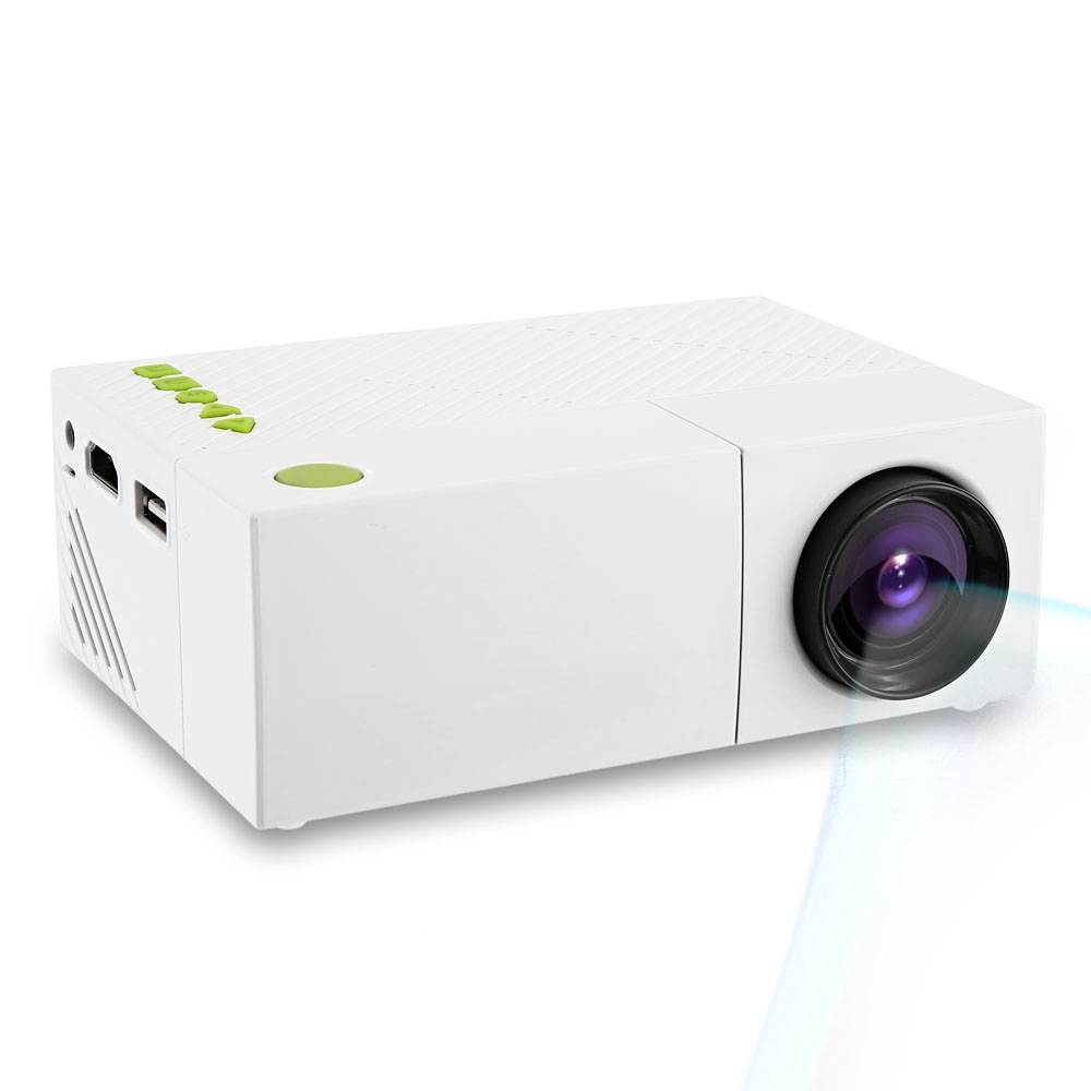 Hd 1080p Mini Lcd Image System Multimedia Led Projector: YG310 LCD Projector 600LM 320 X 240 1080P Mini Portable HD