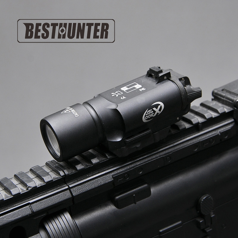Tactical SF X300 Ultra Series LED Weapon Lights Hunting Riflescope Night Vision Handgun Sight Hunting Scopes