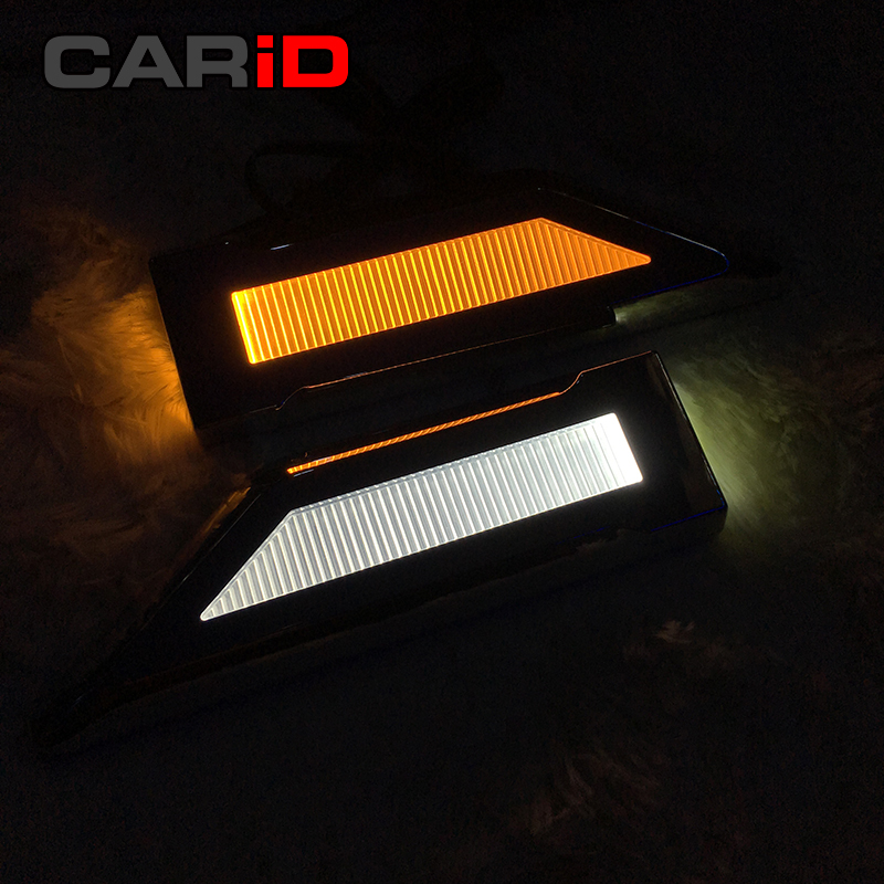 CARiD LED Blade Shape Lamp Steering Fender Side Bulb Turn Signal Light Reversing For Chevrolet Cruze Spark Sonic Camaro Volt for chevrolet cruze captiva sport camaro sonic spark equinox 2013 2014 2015 h8 car led fog lamp 100w daytime running light bulb