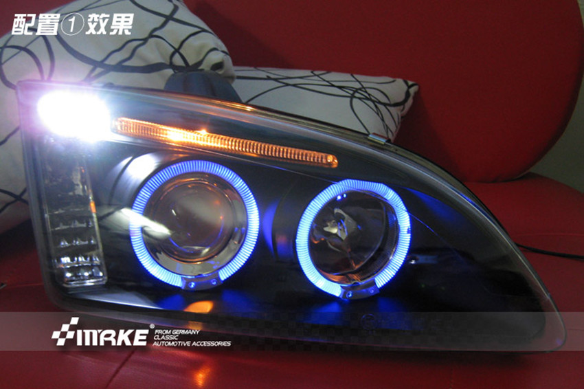 Alibaba Soup Up Performance Xenon Headlights For   Ford Focus Hid Headlight Led Angeleyes Drl Daytime Running Lights In Car Light Assembly From