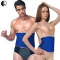 Gordura de Fitness Queimador Celulite Slim Mulheres Homem Corpo Shapers Cintura Cincher Cinto Corset Bodysuit Frete Grátis AC032