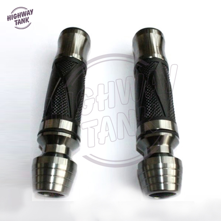 22mm 7//8 poign/ées De Gel De Caoutchouc De Guidon Moto Dirt V/élo Atv rouge