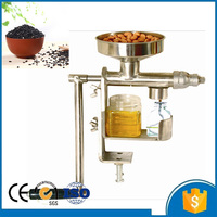 1kg/h coconut peanut sesame seed cold press oil machine for home with CE
