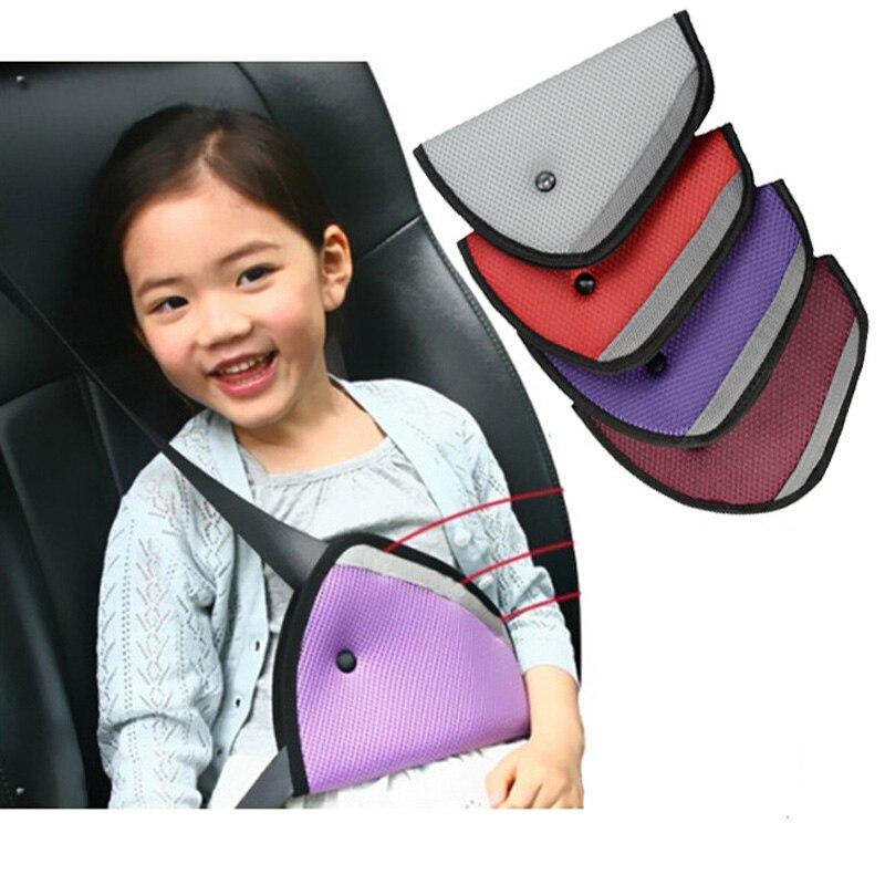 2PCS Breathable Baby Kid car safety belt adjust device Child Safety Cover Shoulder Harness Strap Adjuster Resistant Protect
