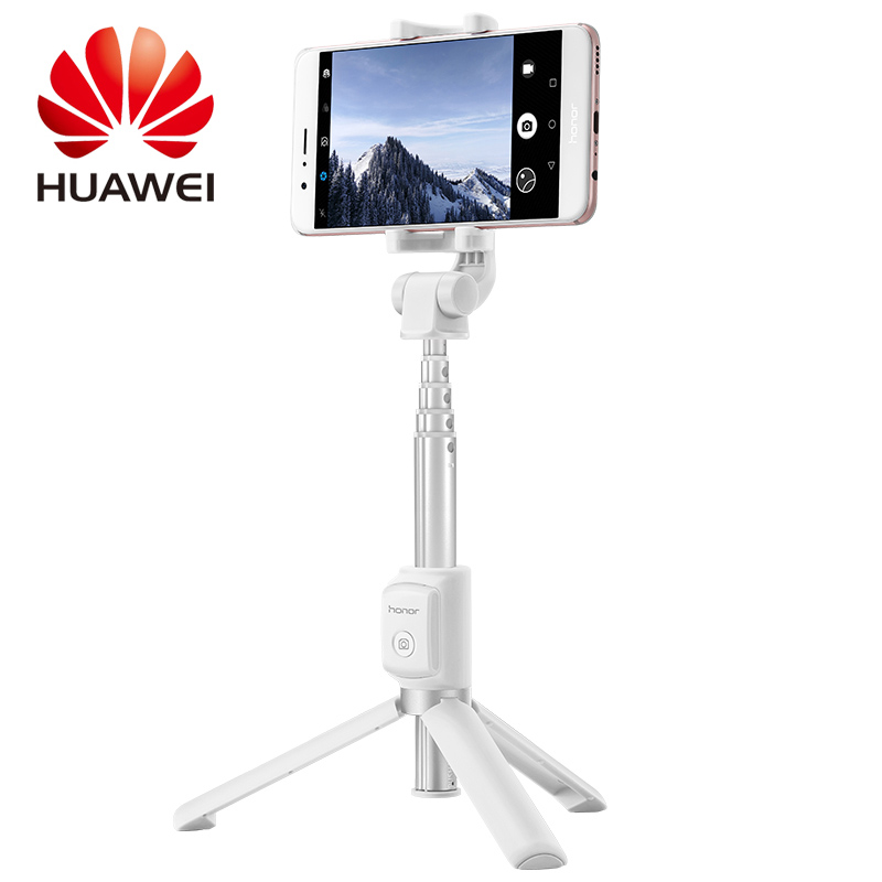 Huawei Honor AF15 Selfie Stick Tripod Bluetooth 3.0 Portable Monopod Extendable Handheld Holder Wireless Connection Control выключатель 3 клавишный schneider electric glossa титан