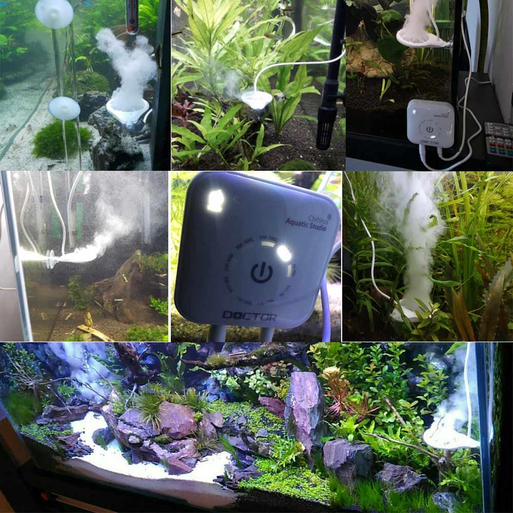 Image 2 - 3th 世代 Chihiros ドクターブラウン/シルク藻類リムーバー Twinstar 植物魚エビ水族館クリーナークリーニングツール用品    グループ上の ホーム