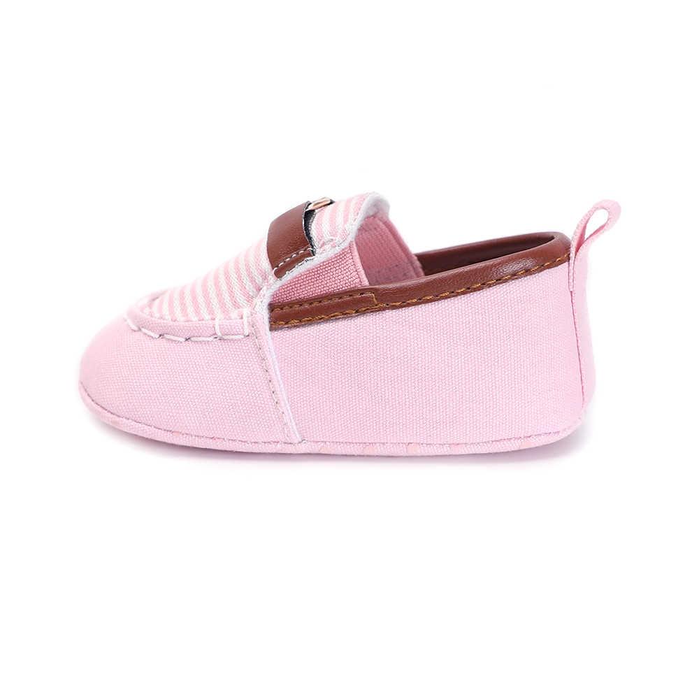 פעוט נעלי ילדה תינוק מוקסינים תינוק נעלי ספורט לילדים בד ראשון הליכונים בנות בני אביב 0-18 חודשים יילוד תינוק