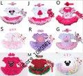 Lovely flower Baby Girl Infant Dress,1set =romper+hairband+shoes,Tutu Romper Dress Bebe Party Birthday Kids