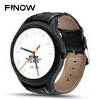 Finow X1 Smart Watch Wearable Devices Android 4.4 3G WIFI GPS Clock NO.1 D5 Smartwatch PK KW88 KW18 I3 DM368 watch black