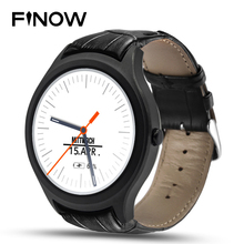 Finow X1 Smart Watch Wearable Devices Android 4.4 3G WIFI GPS Clock NO.1 D5 Smartwatch PK KW88 KW18 I3 DM368 watch black