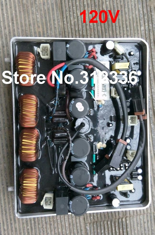 Fast Shipping IG6000 AVR DU50 120V/60Hz Inverter generator spare parts suit for kipor Kama Automatic Voltage Regulator