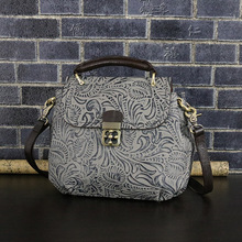 Hot Sale Fashion Designer Brand Women real Leather Vintage Handbags Ladies Shoulder Bags Tote Bag Retro Messenger Women Bags