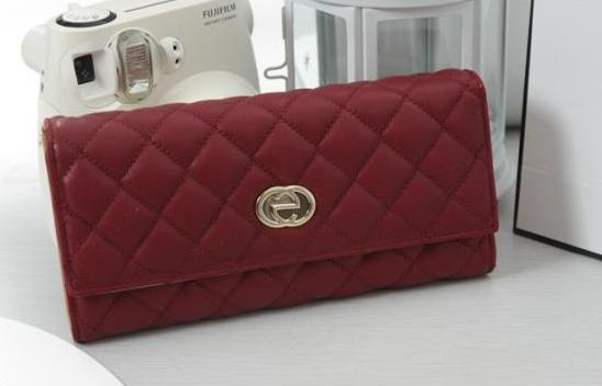Women's Quilted Faux Leather Wallet