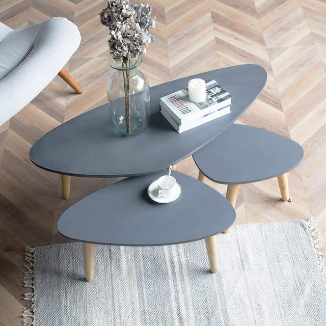 US $99.0 |Loft Style Furniture Modern Wood Table Living Room Furniture  Coffee Table Legs Solid Wood Sofa Side Table Loft Furniture Design-in  Coffee ...