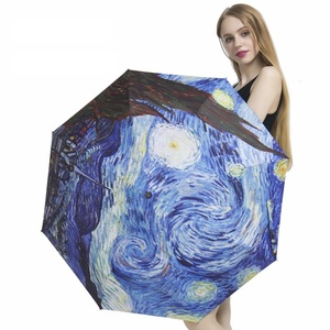 Starry Sky Folding Unbrellas F