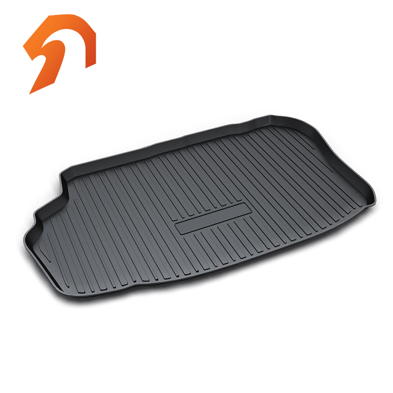 Rubber Rear Trunk Cover Cargo Liner Trunk Tray Floor Mats For Toyota Camry Hybrid Carpet Liner Mats