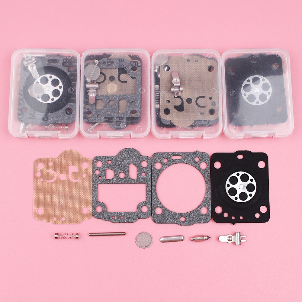 5pcs/lot Carburetor Carb Repair Rebuild Kit For Husqvarna 235 236 240 435 435E Chainsaw Spare Tool Part