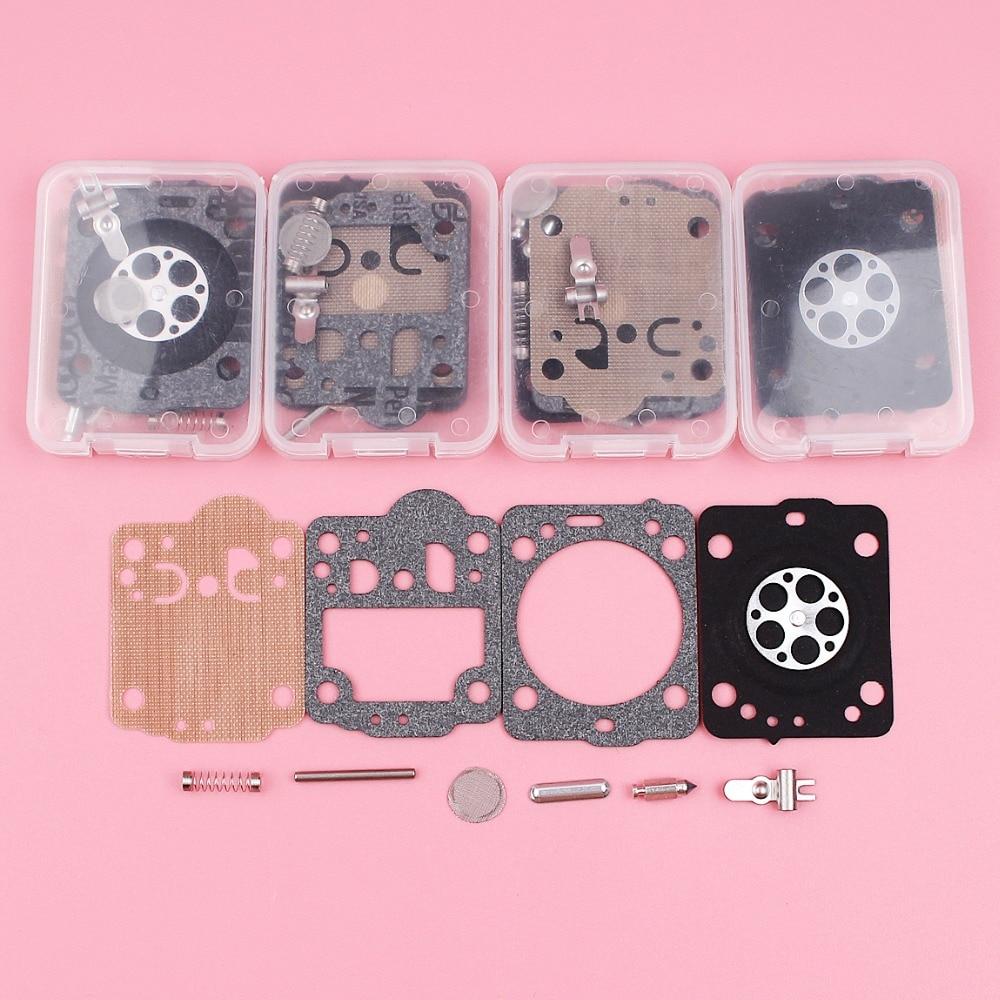 5pcs/lot Carburetor Carb Repair Rebuild Kit For Husqvarna 235 236 240 435 435E Chainsaw Spare Tool Part