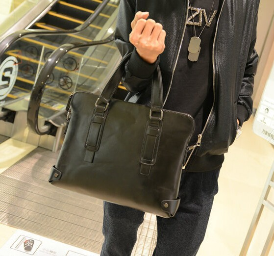 stacy bag hot sale good quality men handbags male fashionable leather bag  men large tote cross body shoulder bags briefcase-in Top-Handle Bags from  Luggage ... b28a3921ee503