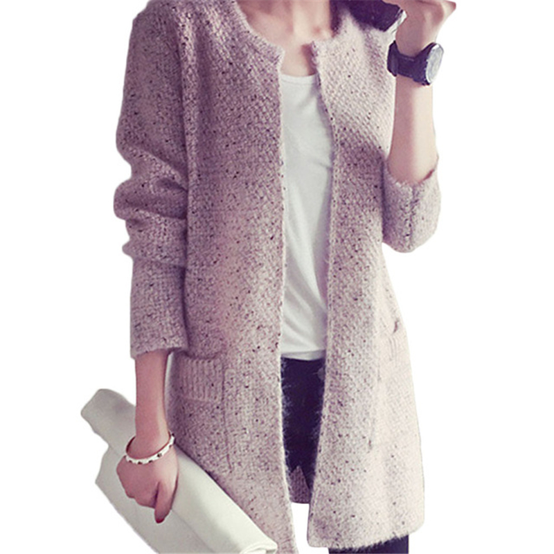 Us 1203 45 Offtricot Sweater Women Autumn Woman Sweaters Elegant Sueter Mujer Casual Roupas Feminina Pull Femme Cardigan Clothes Plus Size 5xl In