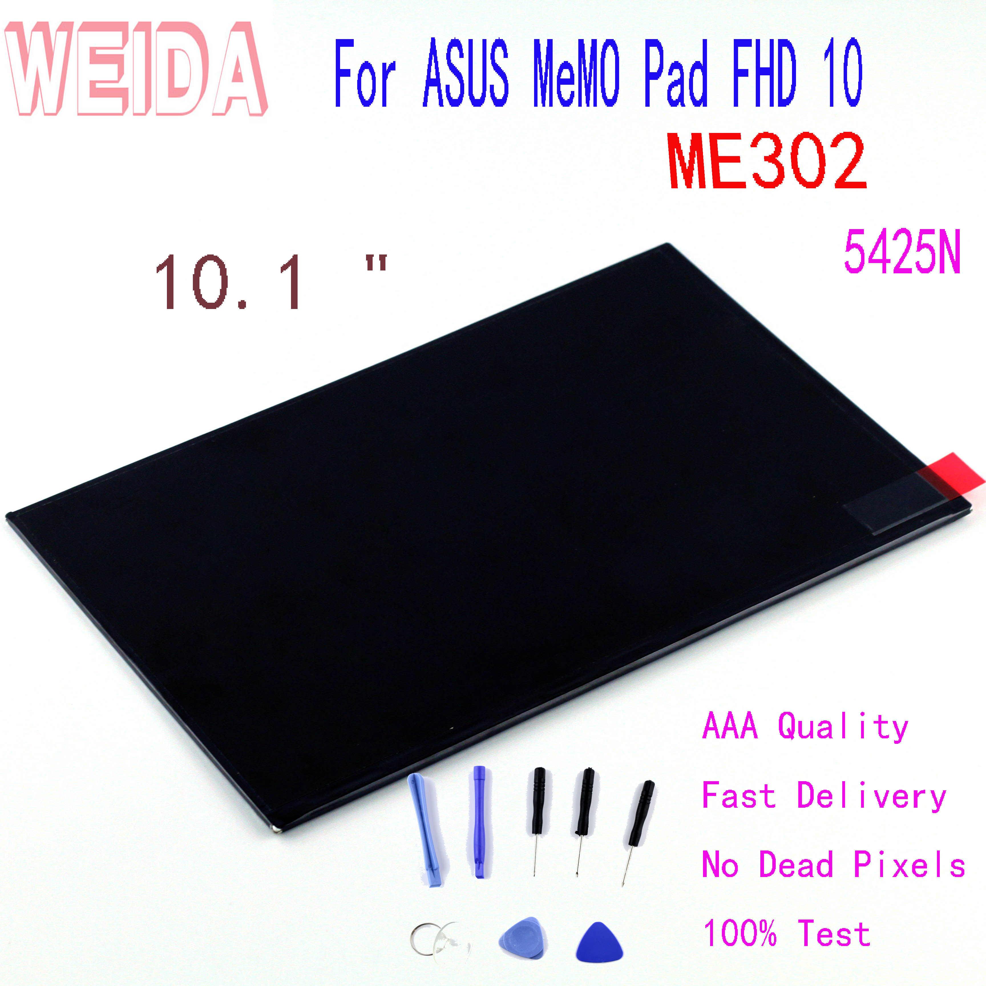 WEIDA 10 1 дюймов для ASUS MeMO Pad FHD ME302 5425 K00A ЖК дисплей дигитайзер Сенсорная панель