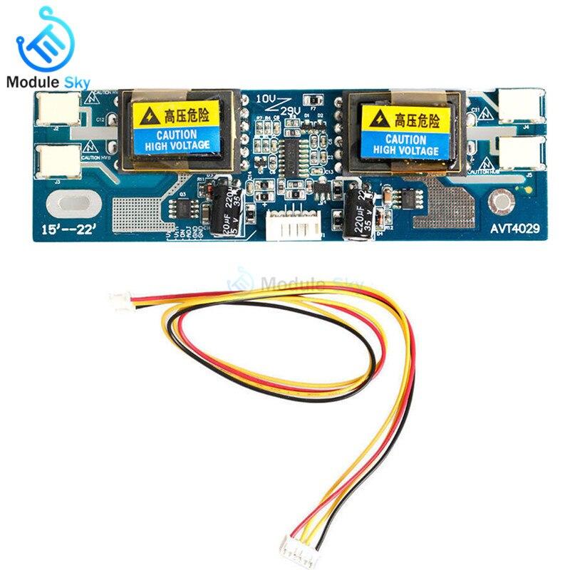 10-30V Universal CCFL Inverter LCD Monitor Module 4 Lamp lcd Inverter for Laptop 15-22 Widescreen Hot10-30V Universal CCFL Inverter LCD Monitor Module 4 Lamp lcd Inverter for Laptop 15-22 Widescreen Hot