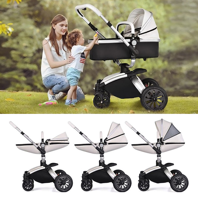 2 in 1/3 in 1 Baby stroller With Car Seat High Landscope Folding Baby Carriage For Child From 0-3 Years Prams For Newborns 2