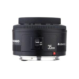 Image 5 - Yongnuo 35 Mm YN35mm F2.0 Ống Kính Góc Rộng Cố Định/Thủ Tự Động Lấy Nét Ống Kính Cho Máy Canon 600D 60D 5DII 5D 500D 400D 650D 600D 450D