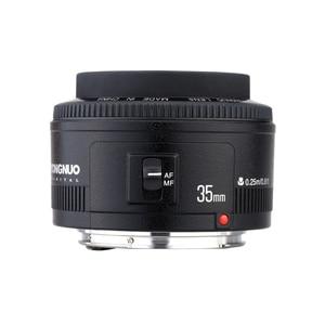 Image 5 - Yongnuo 35mm עדשת YN35mm F2.0 עדשה רחב זווית קבוע/ראש פוקוס אוטומטי עדשה עבור Canon 600d 60d 5DII 5D 500D 400D 650D 600D 450D
