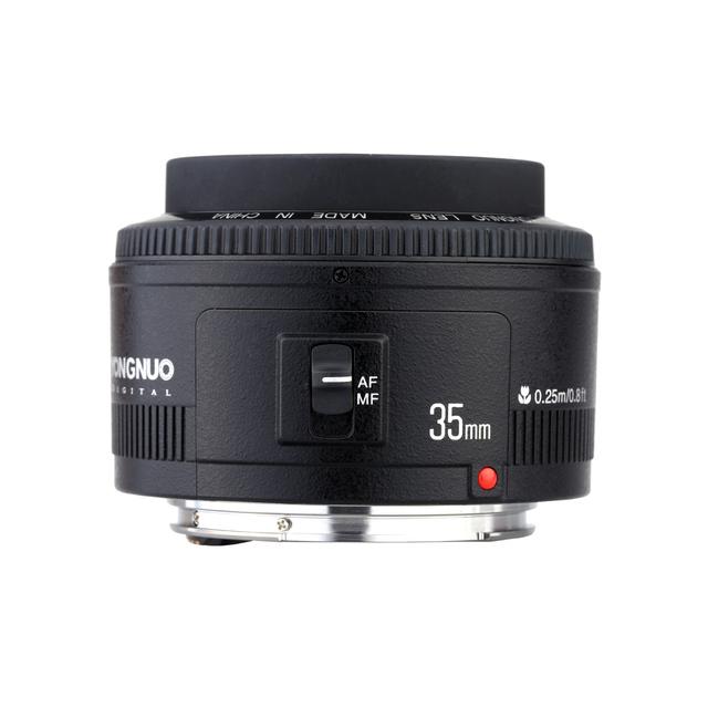 Yongnuo 35mm lens YN35mm F2.0 lens Wide angle Fixed/Prime Auto Focus Lens For Canon 600d 60d 5DII 5D 500D 400D 650D 600D 450D