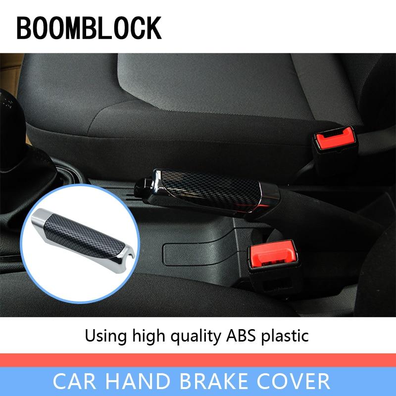 Car Parking Handbrake Grips Protector Covers Sticky For Honda Civic Accord Toyota Coralla CHR Yaris BMW E60 E90 X5 E53 F30 F10