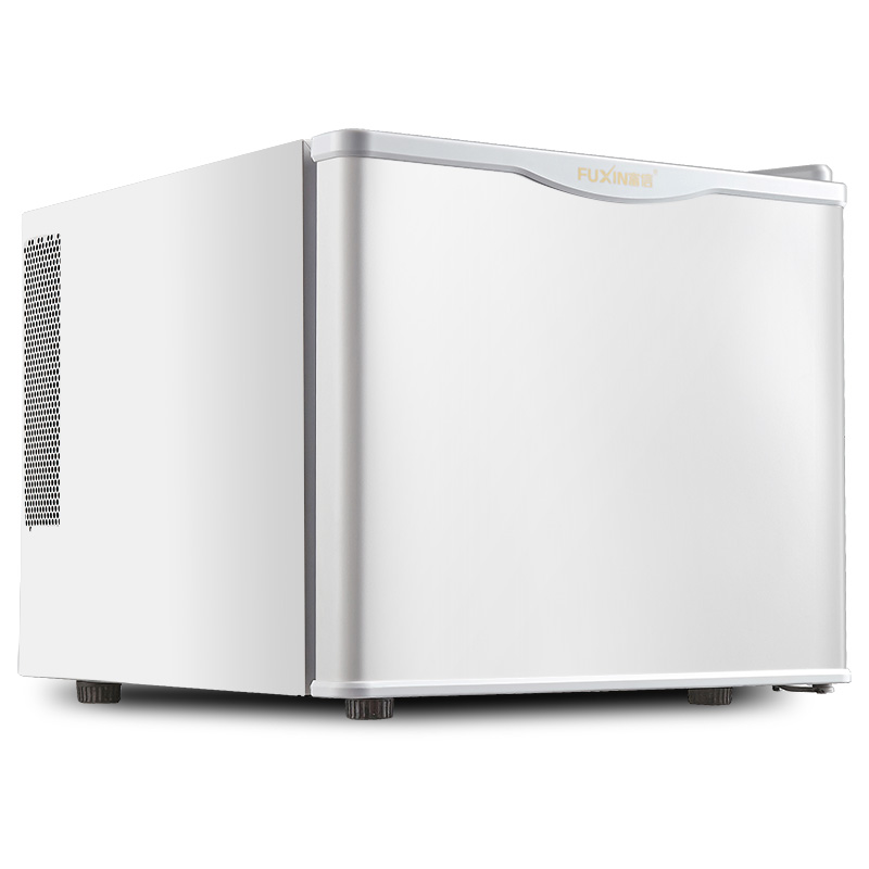 FREESHIPPING 60W POWER 17L CAPACITY ELECTRICITY FRIDGE Tempered Glass Single Door Cold&Warm Refrigerator Household Small Refrige