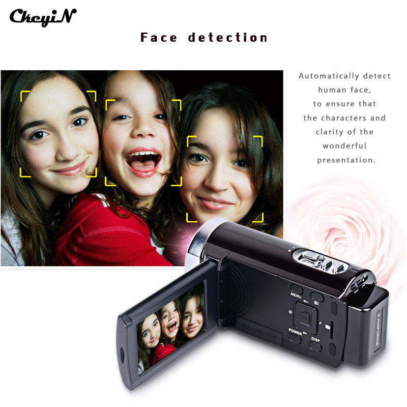 ФОТО Portable Video Camera Full HD 1080P 16MP 16x Zoom 3.0'' TFT LCD Digital Video Camcorder Camera DV DVR Support Face Detection2727