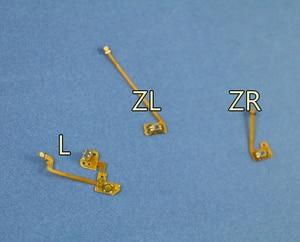 Image 3 - 1 zestaw oryginalny zamiennik L ZL ZR przycisk wstążka Flex kabel do konsoli Nintendo przełącznik NS Joy Con kontroler przyciski kabel