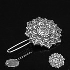 Viking Ancient Hair Clips Yoga dATURA Flowers Hair Stick Hair Style Accessories Life Of Flower Hair Pins For Women