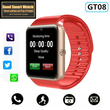 GT08 Smart Watch For Apple  Men Women Android Wristwatch  Electronics watch With Camera SIM TF Card PK Y1
