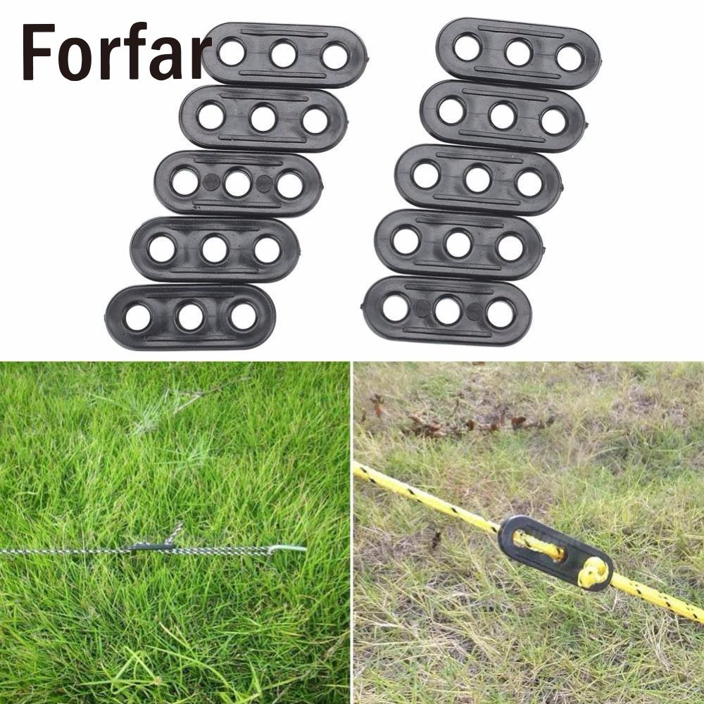 10x//bag Guy line Bent Runners Tent Clips Lock Rope Tensioners Camping Sports,