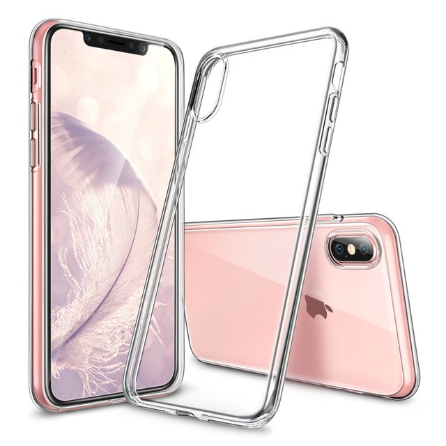 watch 8615b 6b6a7 US $6.98 |For iPhone X Case,iPhone 10 Cover,Crystal Clear Flexible Soft Gel  TPU Cover Slim Fit for Apple 5.8