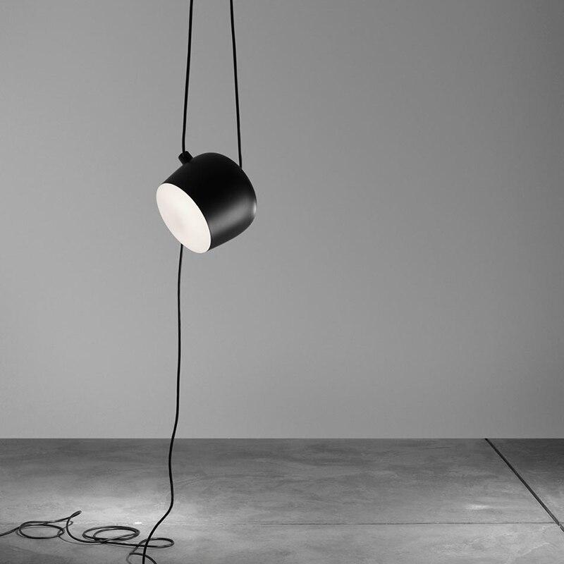 Высокая копия акрилового покрытия AIM Led Подвесная лампа для ресторана, подвесной светильник, алюминиевый светильник, sospensione led светильник, св...