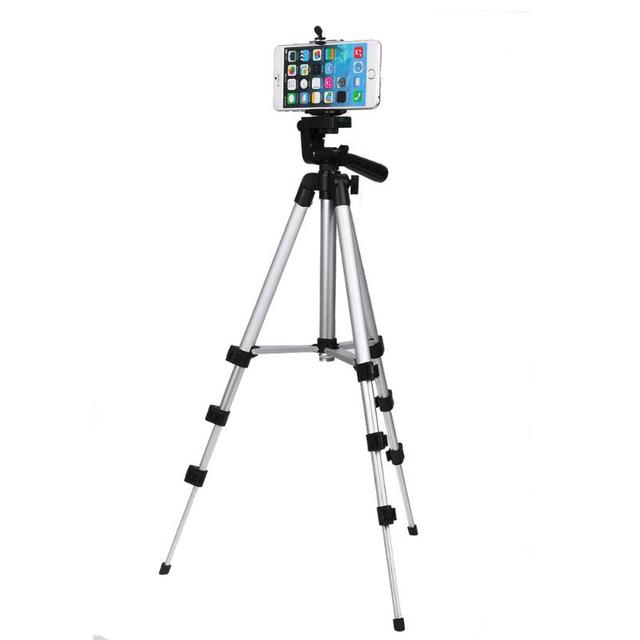 Portable Professional Camera Tripod Stand Holder Digital Camera+Table/PC Holder+Phone Holder+Nylon Carry Bag For iPhone Samsung