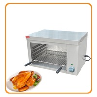 110 220V Electric Commercial Duck Chicken Grill Oven Big Capacity Electric Roaster Heating Furnace EU AU