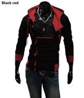 2016 Autumn Winter Men Brand Fashion Casual Slim Cardigan Assassin Creed Hoodies Sweatshirt Outerwear M 6XL