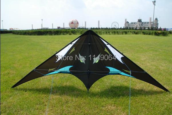 Free Shipping High Quality 1.8m Sea Monster Dual Line Stunt Kites With Handle Line Power Kites Sale Weifang Kites Toys Hcskites