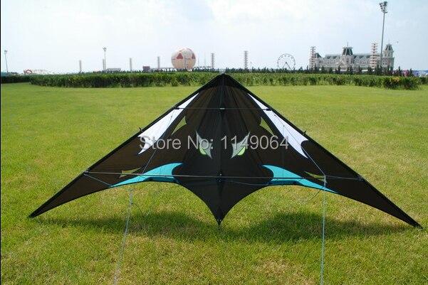 ФОТО free shipping high quality 1.8m Sea monster dual line stunt kites with handle line power kites sale weifang kites toys hcskites