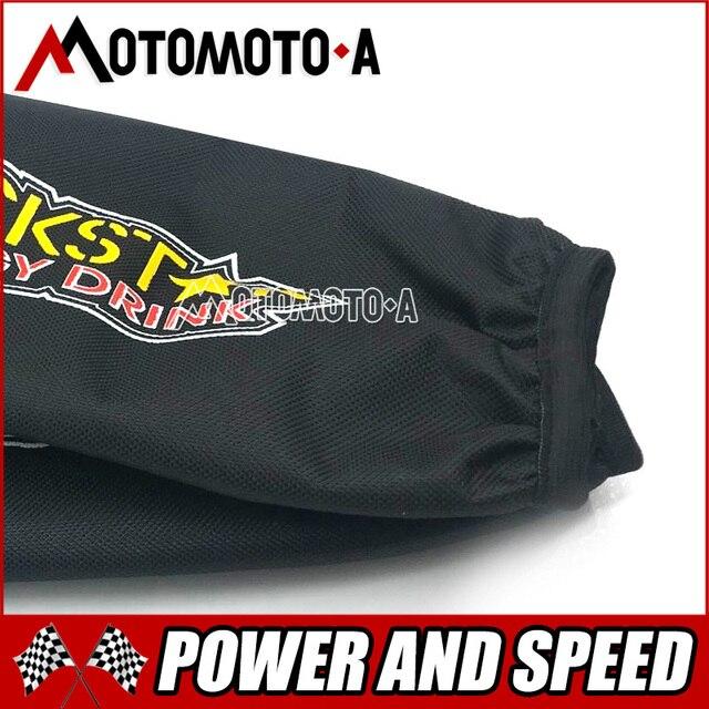Housse de protection pour fourche arrière de moto 26cm 34cm, protection de Suspension pour Dirt Bike Pit Pro