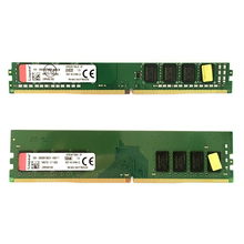 קינגסטון מחשב ddr4 זיכרון ram 8GB 4GB 16GB 2666MHz או 2400MHz DIMM שולחן העבודה תמיכת לוח האם PC4 4G 8G 16G 2666 2400 MHZ