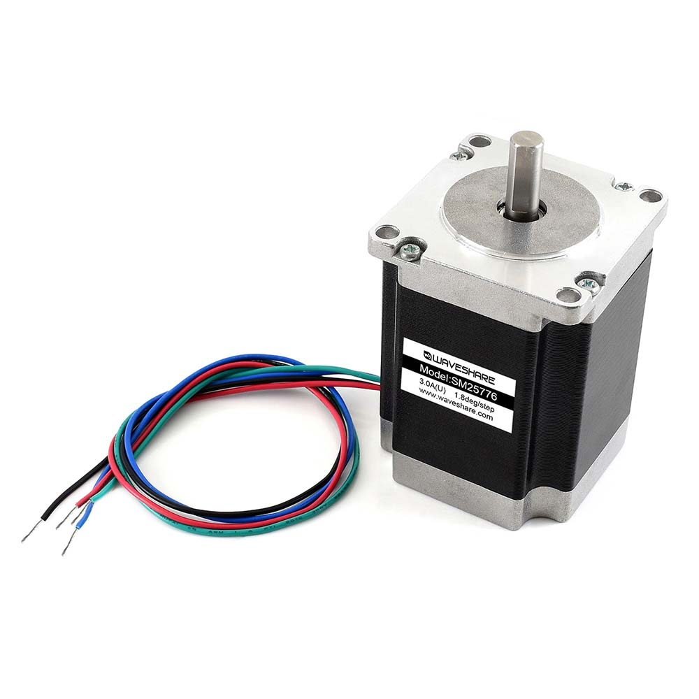SM25776 Two-Phase Stepper Motor With Step Angle 1.8 Degree And 1.90N.m Holding Torque Compatible With SMD258C